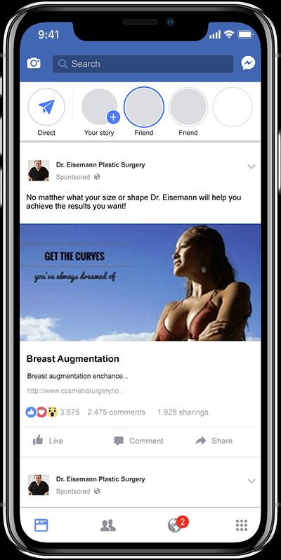 Social Media Ads for Plastic Surgeons