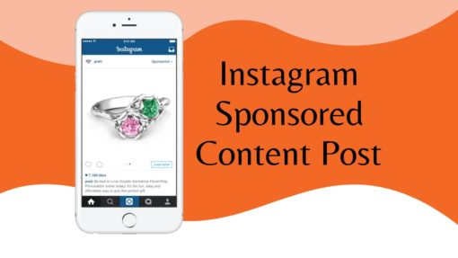 Instagram Sponsored Content Post
